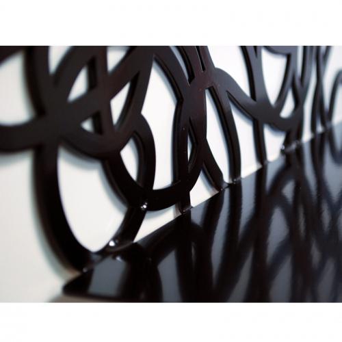 d cor m tal d cors muraux en m tal etag res design tag re carina. Black Bedroom Furniture Sets. Home Design Ideas