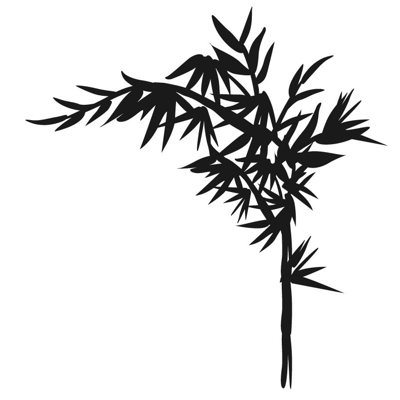d cor m tal d cors muraux en m tal deco tendance bamboo. Black Bedroom Furniture Sets. Home Design Ideas